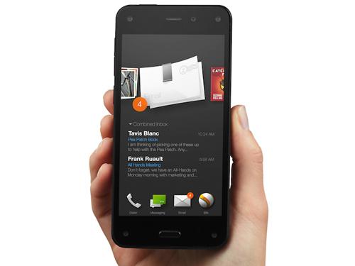 Smartphone hiển thị hình ảnh 3D của Amazon đuợc mở bán